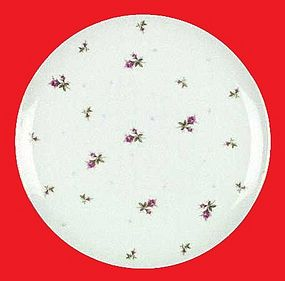 "10 1/2"" Sango Chintz Dinner Plate MSRP: $24.99"