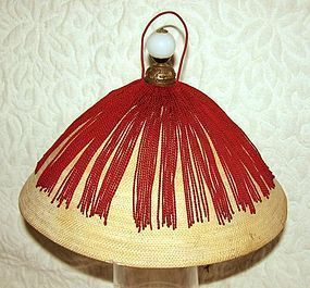 Beautiful Antique Chinese Official Summer Hat
