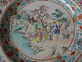 [Continued] A Pair of Very Fine Famille Rose Plates