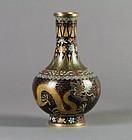 Antique Chinese Lao Tianli Cloisonne Vase