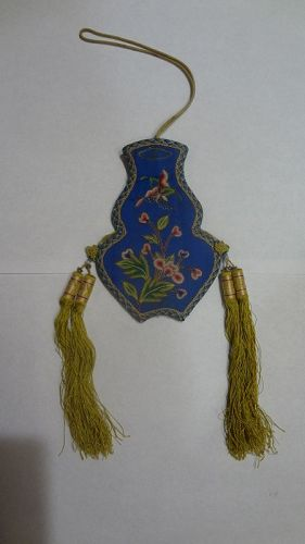 Antique Chinese Silk Purse