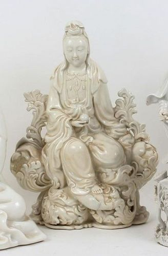 Antique Chinese Porcelain Guanyin
