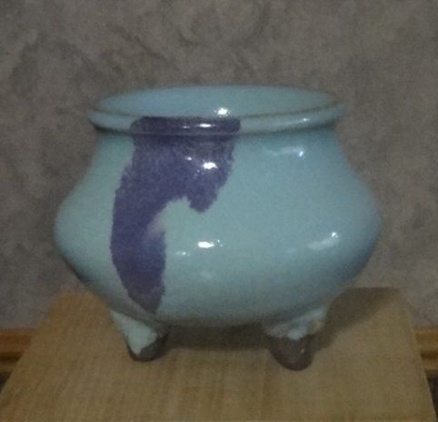 Chinese Jun Style Porcelain Censer