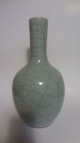 Antique Chinese Guan Type Porcelain Vase