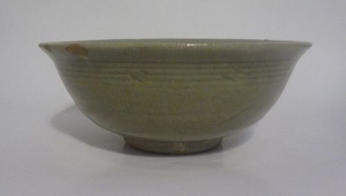 Antique Chinese Celadon Glaze Porcelain Bowl