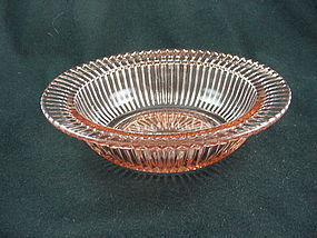 Queen Mary Rimmed Soup Bowl - Pink