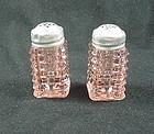 Manhattan Salt & Pepper Shakers - Pink