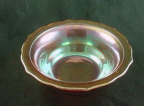 Normandie Iridescent Round Serving Bowl