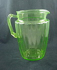 Pillar Optic Pitcher - Green