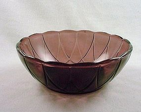 Newport Hairpin Berry Bowl - Amethyst