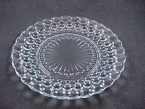 Bubble Sapphire Blue Dinner Plate