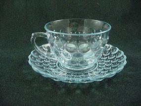 Bubble Sapphire Blue Cup & Saucer Set