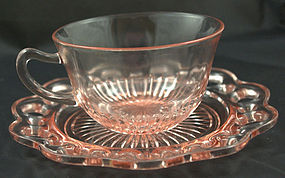 Old Colony Lace Edge Cup & Saucer Set