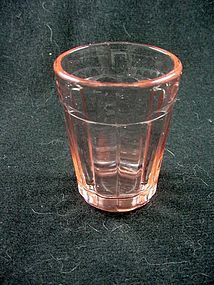 Pillar Optic Whiskey Tumbler - Pink