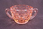 Cube Small Sugar Bowl - Pink