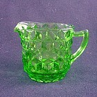 Cube Large Creamer - Green