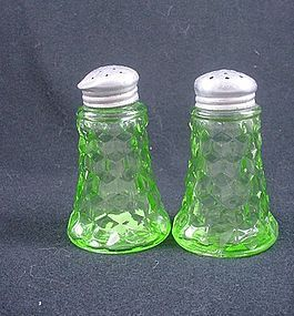 Cube Salt & Pepper Set - Green