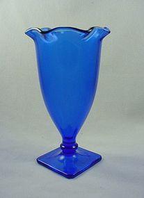 Mt Pleasant Cobalt  Vase