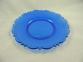 Mt Pleasant Cobalt  8 Inch Plate