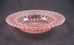 Miss America Cereal Bowl - Pink
