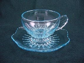 Radiance Cup & Saucer Set - Ice Blue