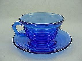 Moderntone Cobalt Cup & Saucer Set