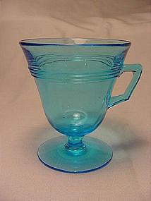 Fostoria Priscilla Handled Custard - Blue