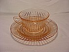 Queen Mary Pink Cup & Saucer Set