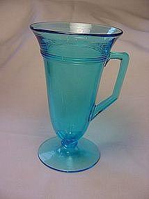 Fostoria Priscilla Handled Tumbler - Blue