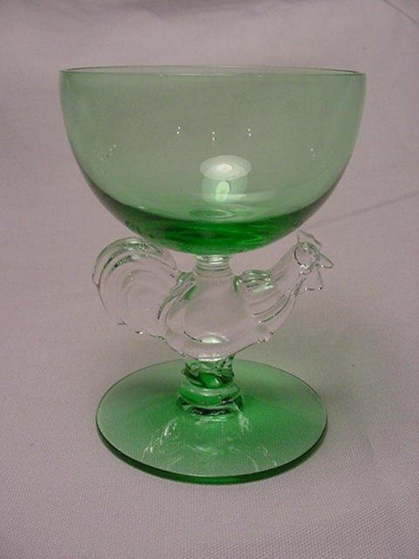 Morgantown Chanticleer Cocktail - Shamrock Green
