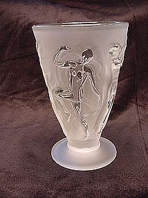 Consolidated Dancing Nymphs Tumbler  - French Crystal