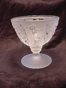 Consolidated Dancing Nymphs Sherbet - French Crystal