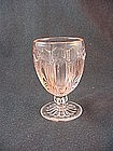 Colonial Knife & Fork Tumbler - Pink