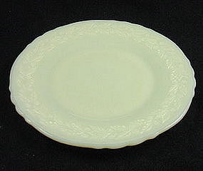 McKee Laurel Luncheon Plate - French Ivory