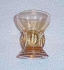 Moondrops Amber Cordial Glass