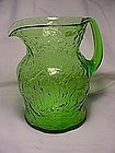 Morgantown Crinkle Ockner Pitcher - Green