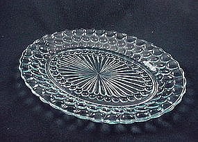 Bubble Sapphire Blue Serving Platter