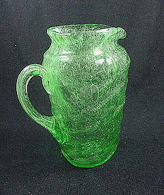 Consolidated Catalonian Emerald Tri Jug