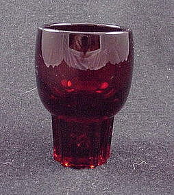 Paden City Glades Whiskey Tumbler - Ruby