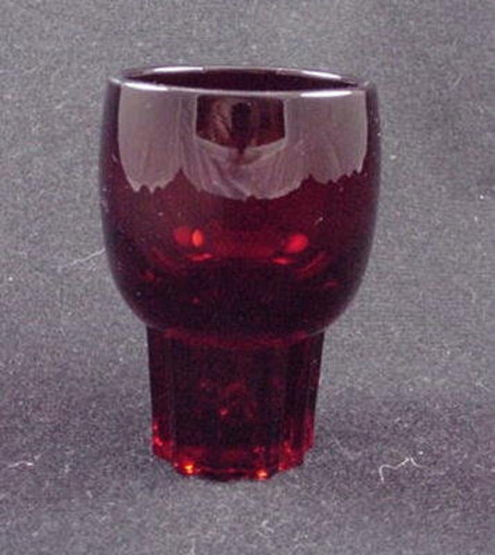 Paden City Glades Whiskey Tumbler - Ruby