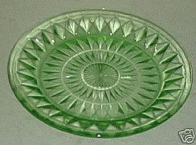 Windsor Salad Plate - Green