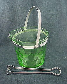 Hex Optic  Ice Bucket - Green