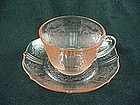 American Sweetheart Cup & Saucer Set - Pink