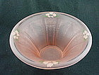 Princess 9 1/2 inch  Hat Shaped Bowl - Pink Satin