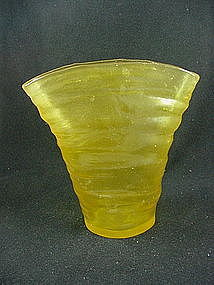 Consolidated Catalonian Honey Fan Vase