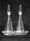Imperial Candlewick Oil & Vinegar Set