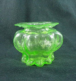 Consolidated Catalonian Emerald Violet Vase