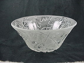 Consolidated Glass Olives Bowl - French Crystal