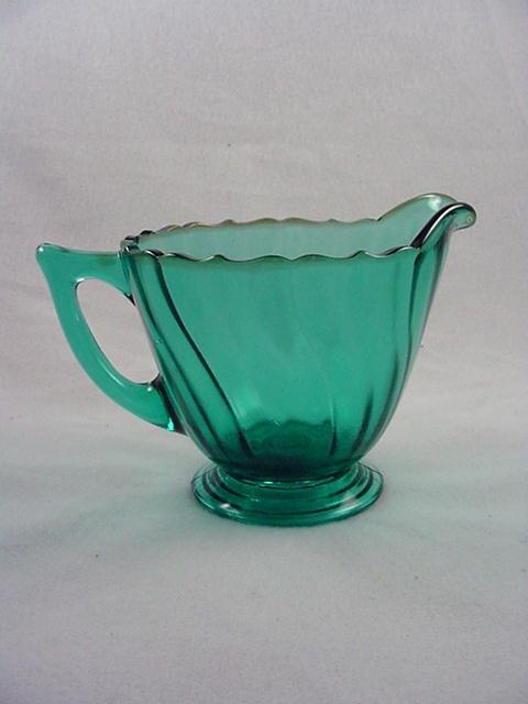 Ultramarine Swirl Creamer