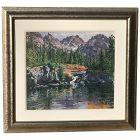 Sheila Gardner American listed artist Sawtooth Tiger Peak at Alice Lake Idaho mountain landscape painting